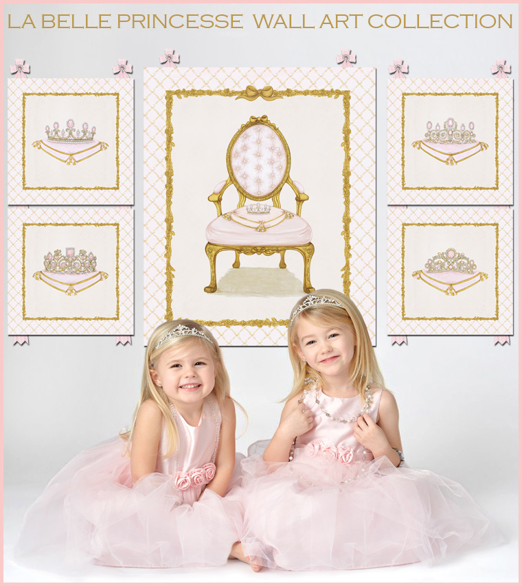 La Belle Princesse Wall Art Collection