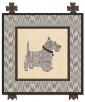 Houndstooth Scottie